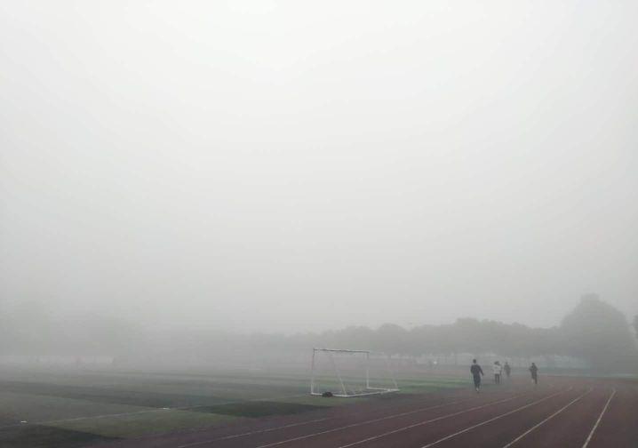 薄雾散尽,又见石大蓝!!!图片