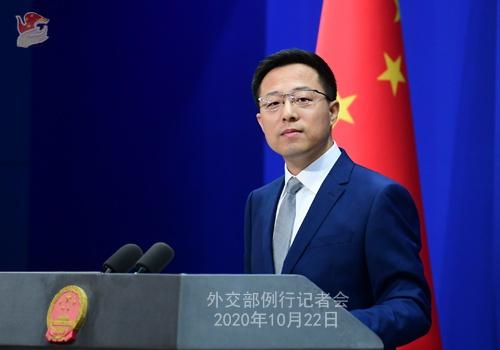 台湾方面表示不愿与中国大陆进行军备竞赛赵立坚:那就应该说到做到图片