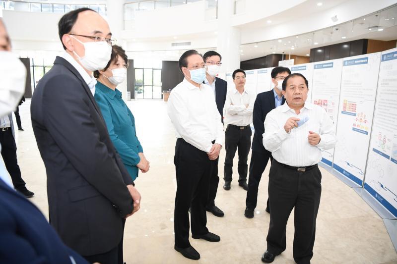 国家发展改革委副主任林念修在上海交大专题调研图片