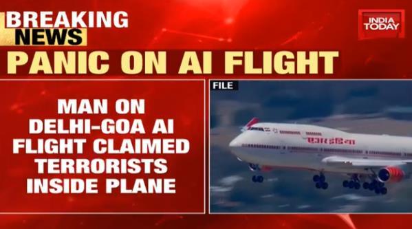 """印度男子飞机上报告""""有恐怖分子"""" 落地后立马被抓"""