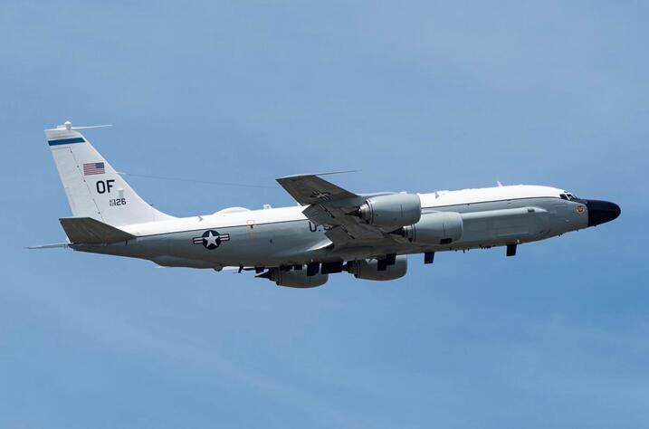 美侦察机被曝从台湾北部上空飞过 美媒:已获美军证实图片