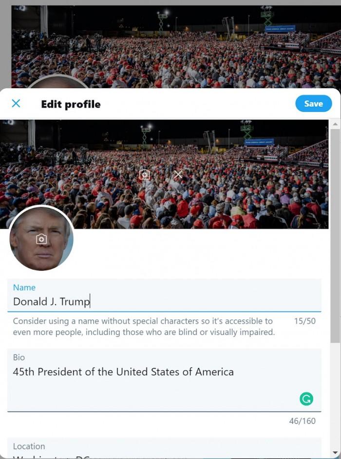 安全专家称猜到密码 从而进入特朗普总统的推特账户