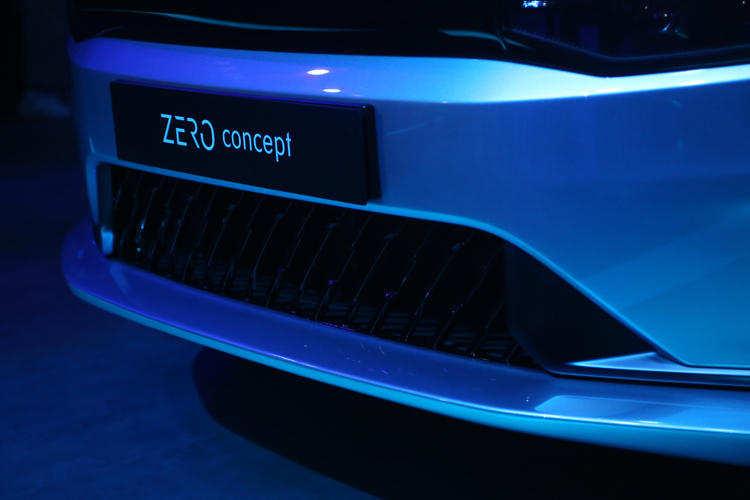领克ZERO Concept量产版车型白车身下线