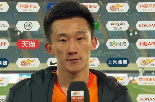 丛震:感谢球迷在场边呐喊,希望下一场能有好的结果