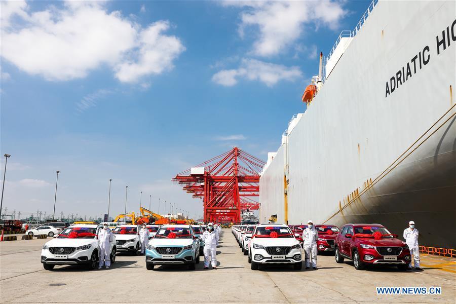 CHINA-SHANGHAI-SAIC-CAR-EUROPE-SHIPPING (CN)