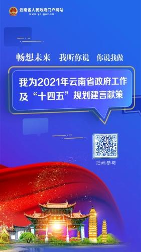 """为2021年云南省政府工作及""""十四五""""规划建言献策图片"""