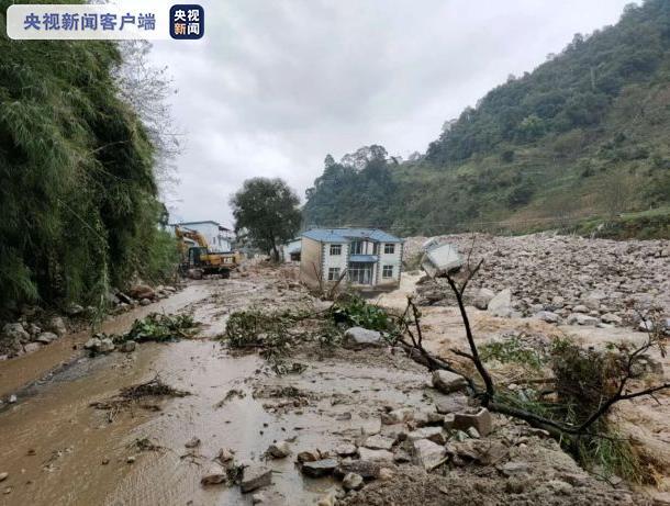 云南局地仍有强降水 大理、丽江等地发生滑坡泥石流风险高图片