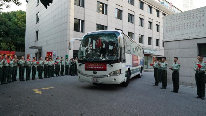 """上海志愿军老兵,今天走进""""南京路上好八连""""的驻地……图片"""
