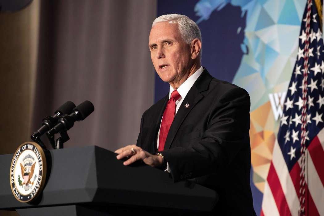 美国副总统彭斯称不会自我隔离,其4名幕僚已确诊