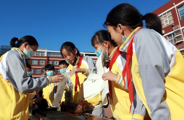 北京印刷学院附小艺术市集体验活动举办