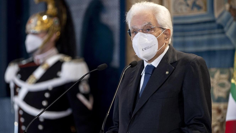 意大利总统马塔雷拉:全球应团结一致应对新冠疫情