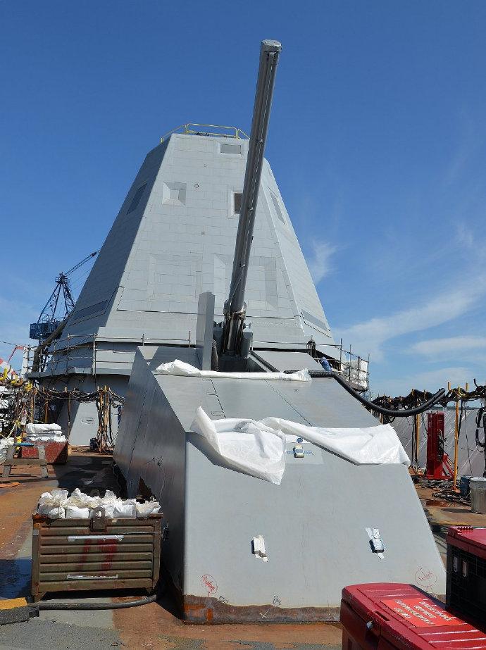 美军DDG1000战舰或将拆除舰炮改装高超音速导弹