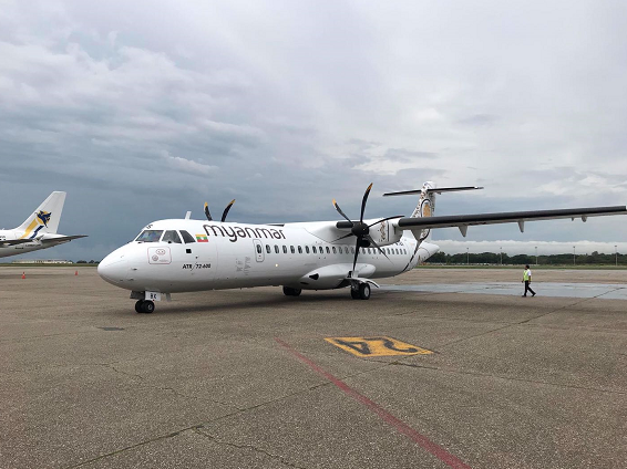 缅甸将国际客运航班限航令延长到11月30日