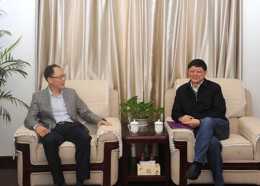 胡金波书记会见教育部国际司方军副司长图片