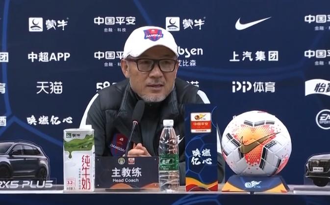 张外龙:球队的恢复很困难;吴庆为球队贡献了一切