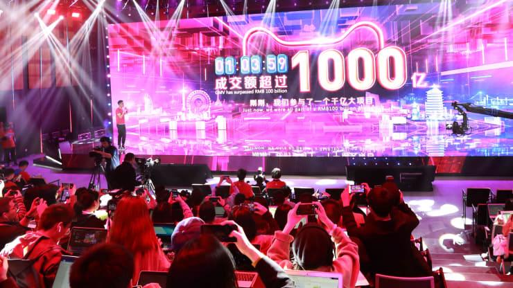 美媒发现:双十一购物节 中国消费者不爱买美国货了图片