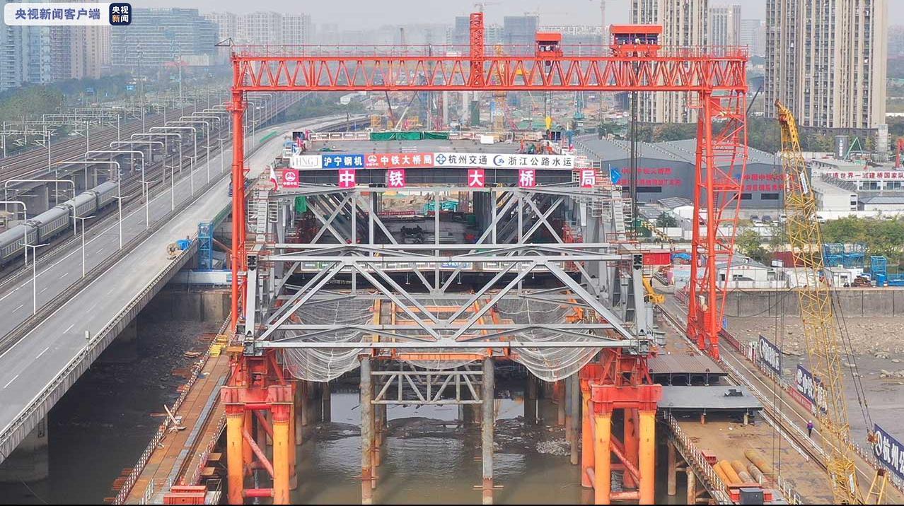 地铁、疾速路都从这过!杭州这座双层大桥又有新停顿(图2)