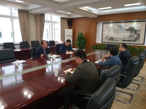 余强与浙江康复医院厅管班子成员进行集体谈心谈话图片