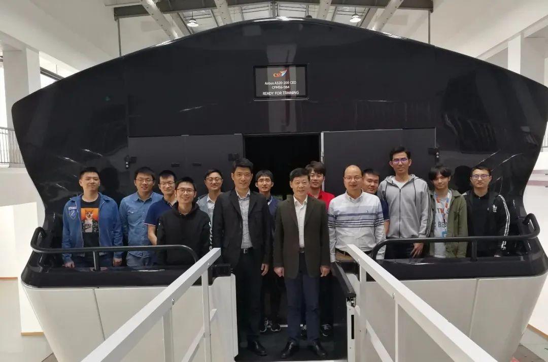 深度产学融合丨南航团队合作研发的国内首架全动飞行模拟机正式交付图片