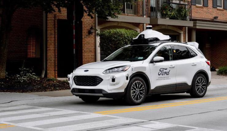 福特第四代自动驾驶平台降临 2022 年正式商用