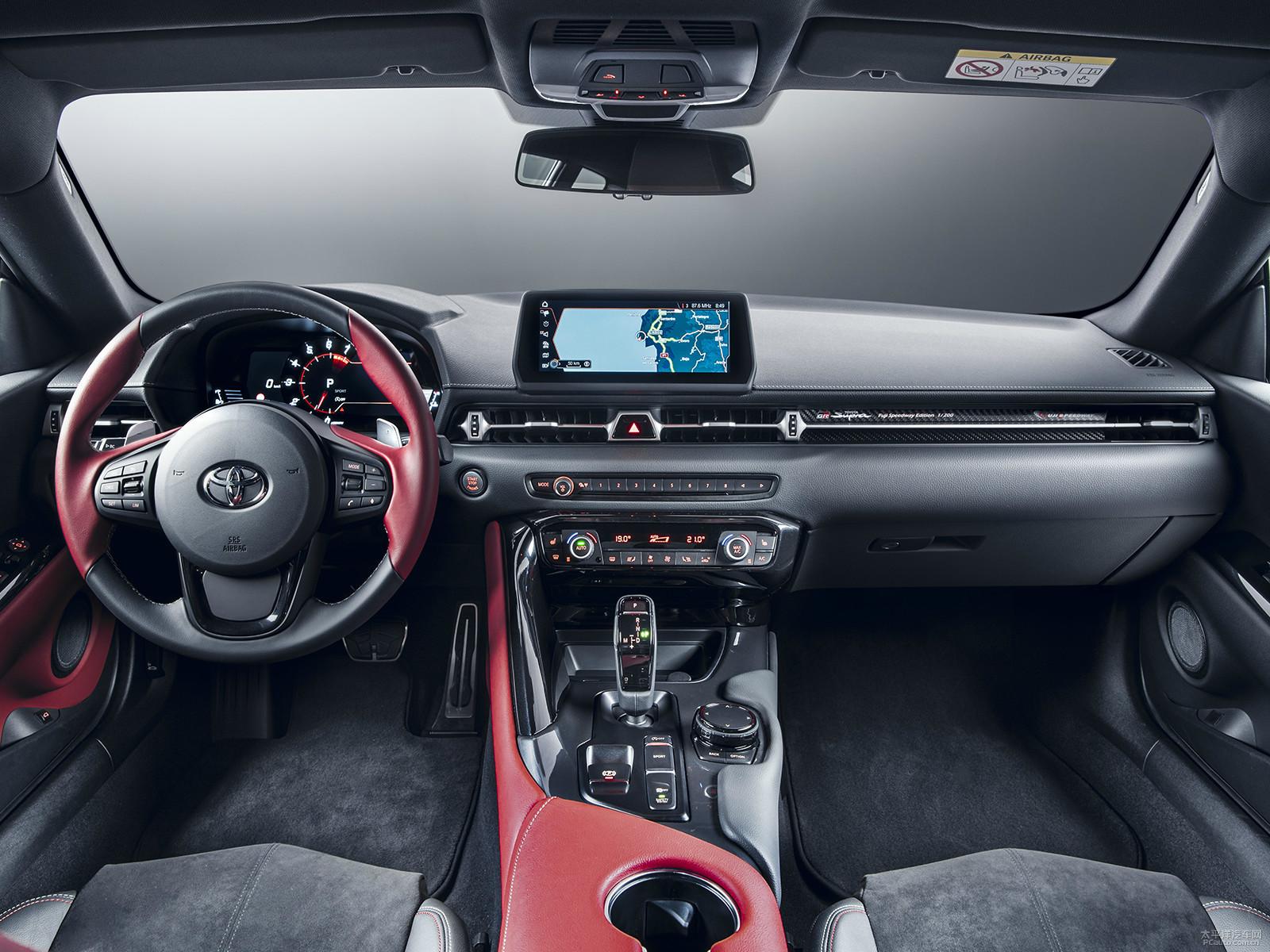 第五代丰田Supra将于11月1日在国内发布