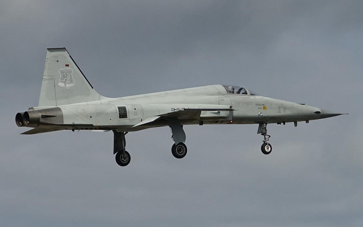 F-5E战机坠海后台媒扒出该机黑历史:在台服役超40年,过去20年发生8起事故图片