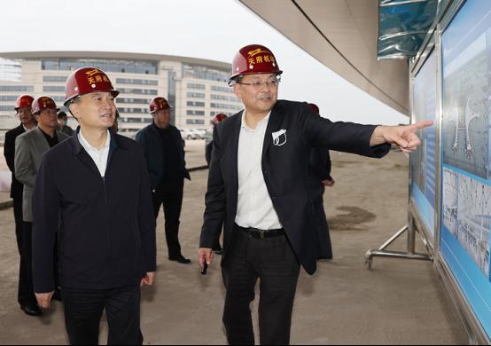 叶寒冰调研天府国际机场公安运行筹备工作图片