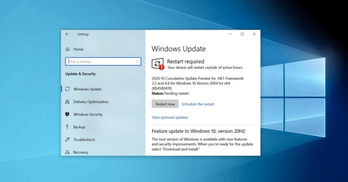 微软 Win10 Build 19042.610/19041.610 正式推送