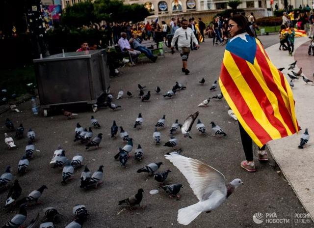 西班牙法官称一万俄军协助加泰闹独立,俄方反讽