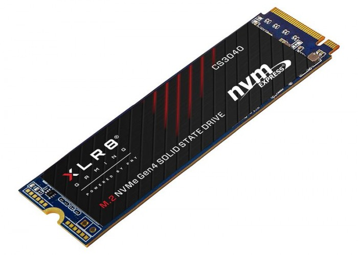 PNY推XLR8 CS3040 M.2 NVMe SSD:顺序读取速度5600MB/s