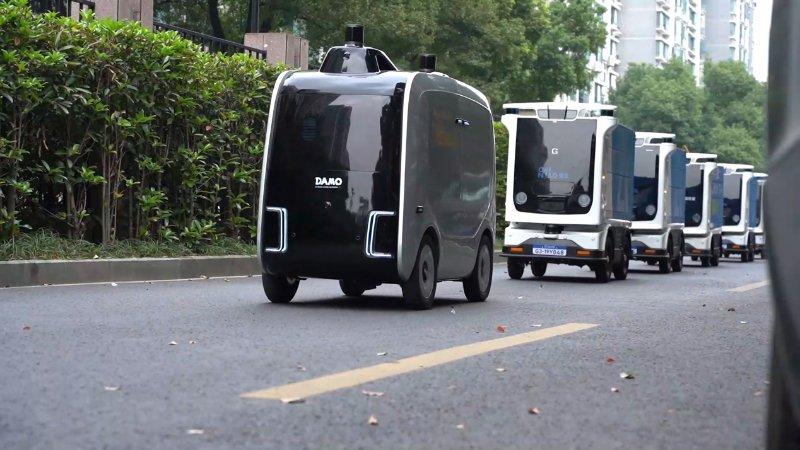 阿里22个物流机器人组队进浙大,