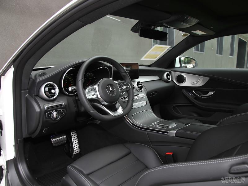 新款奔驰C级Coupe上市 售34.68-36.68万元