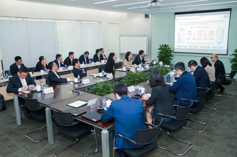 王海峰会见泰康保险集团总裁刘挺军,百度智能云助力保险业智能升级