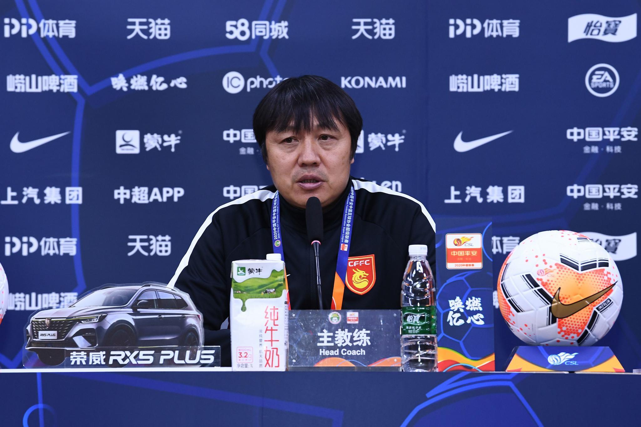 谢峰:想要进入前6还需提高防守,之后会锻炼年轻队员