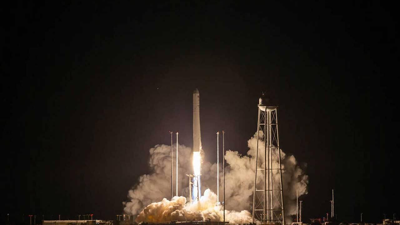 """诺斯罗普·格鲁曼公司成功发射""""天鹅座""""飞船 完成国际空间站再补给任务"""