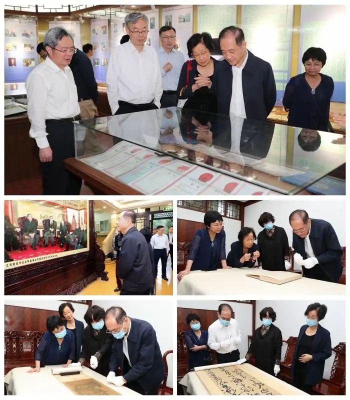 全国政协原副主席韩启德同志一行赴我校视察工作图片