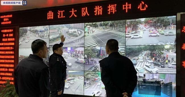 西安交警打造信号灯智能系统 假期精准调控景区交通图片