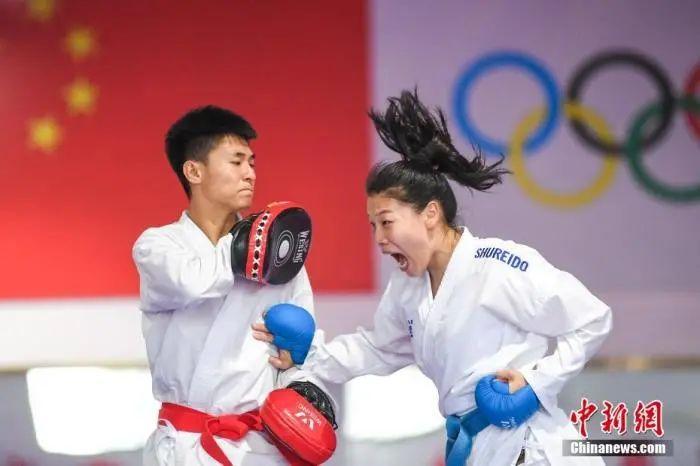 大半年没比赛,中国运动员们都在干嘛?图片