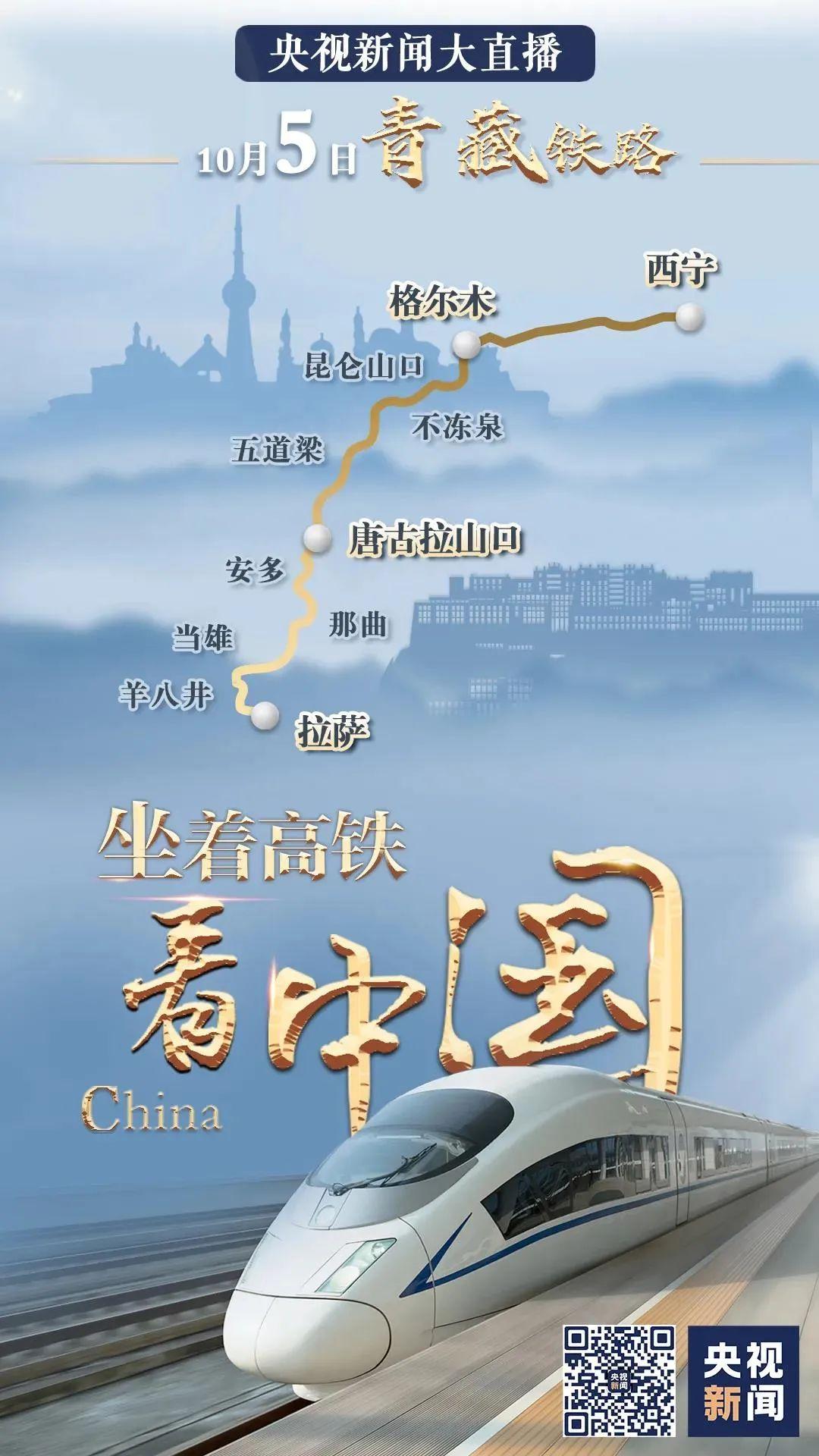 《坐着高铁看中国》 今日走进青海图片