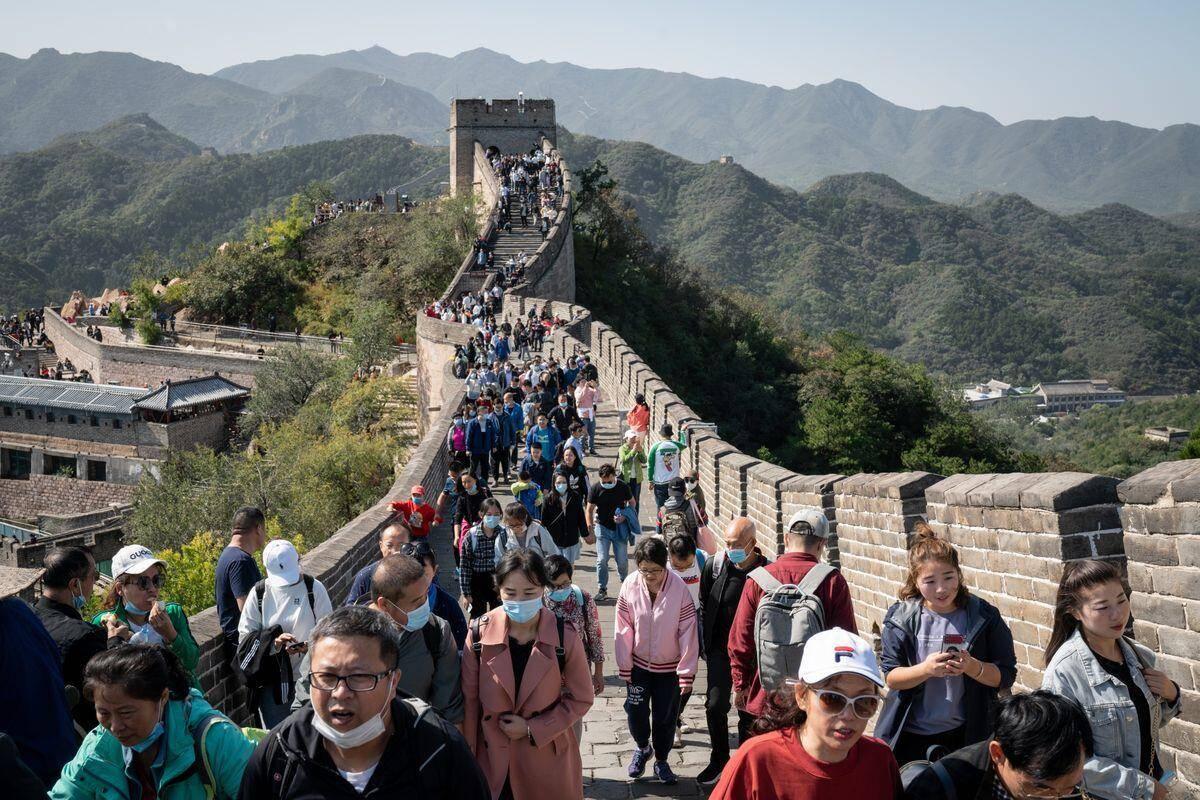 美媒眼中的十一黄金周:近5亿人次出游展示了中国经济正走出新冠疫情图片