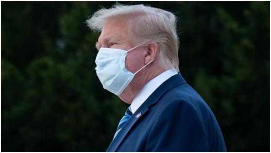 特朗普称新冠没有流感致命?脸书直接删其贴文