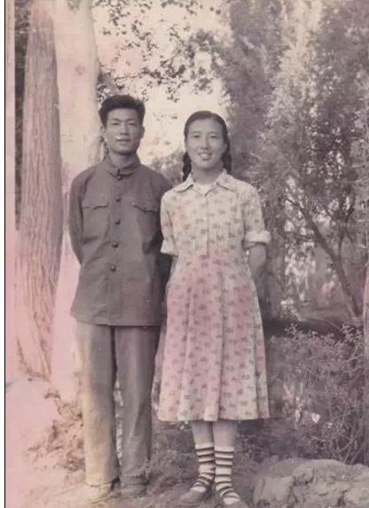 ▲吴明珠院士与丈夫杨其祐