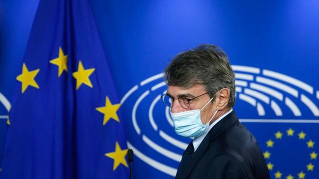 与新冠感染者有过接触,欧洲议会议长宣布自我隔离