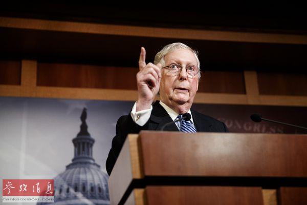 美参议院共和党领袖:白宫防护不足 已两个月没去过