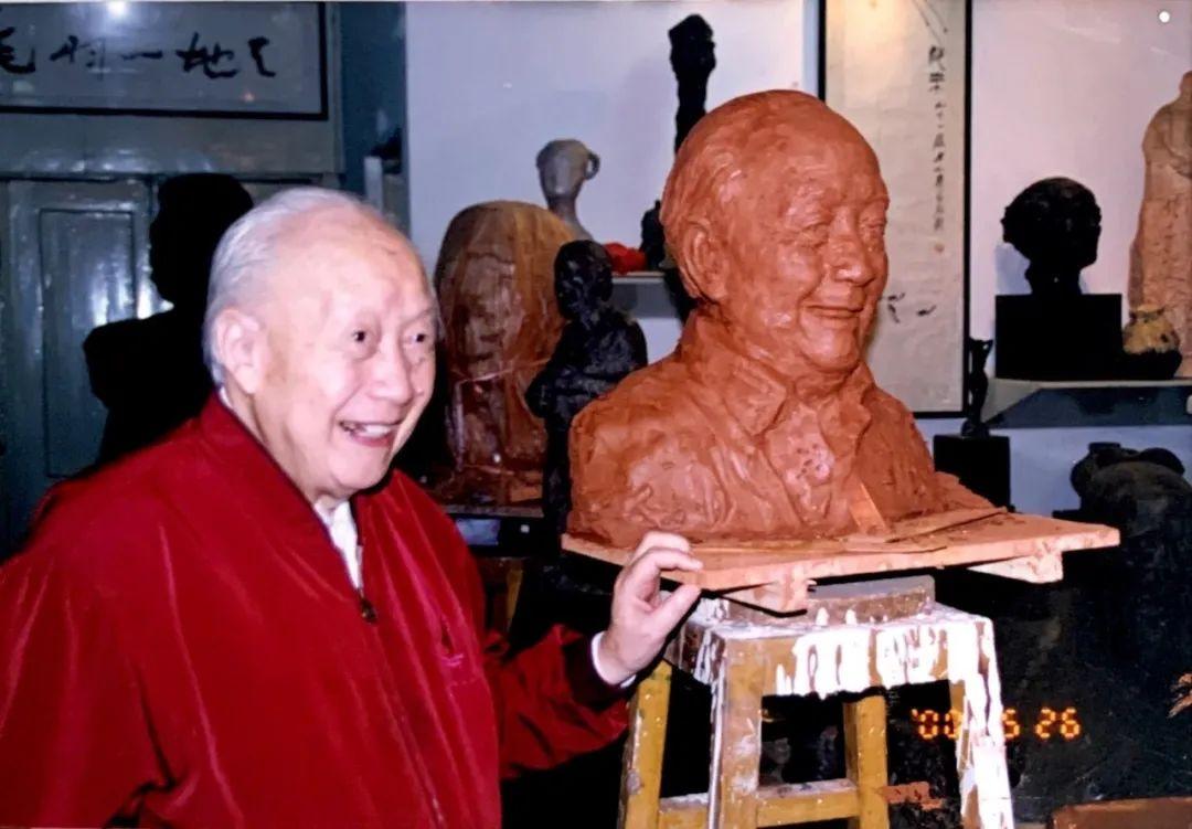 """""""形神共存——我为先生塑像""""丨纪念钱伟长先生诞辰107周年图片"""