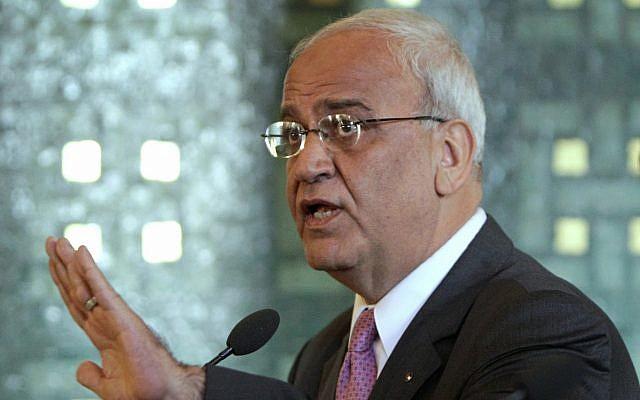 巴勒斯坦首席谈判代表埃雷卡特新冠病毒检测呈阳性