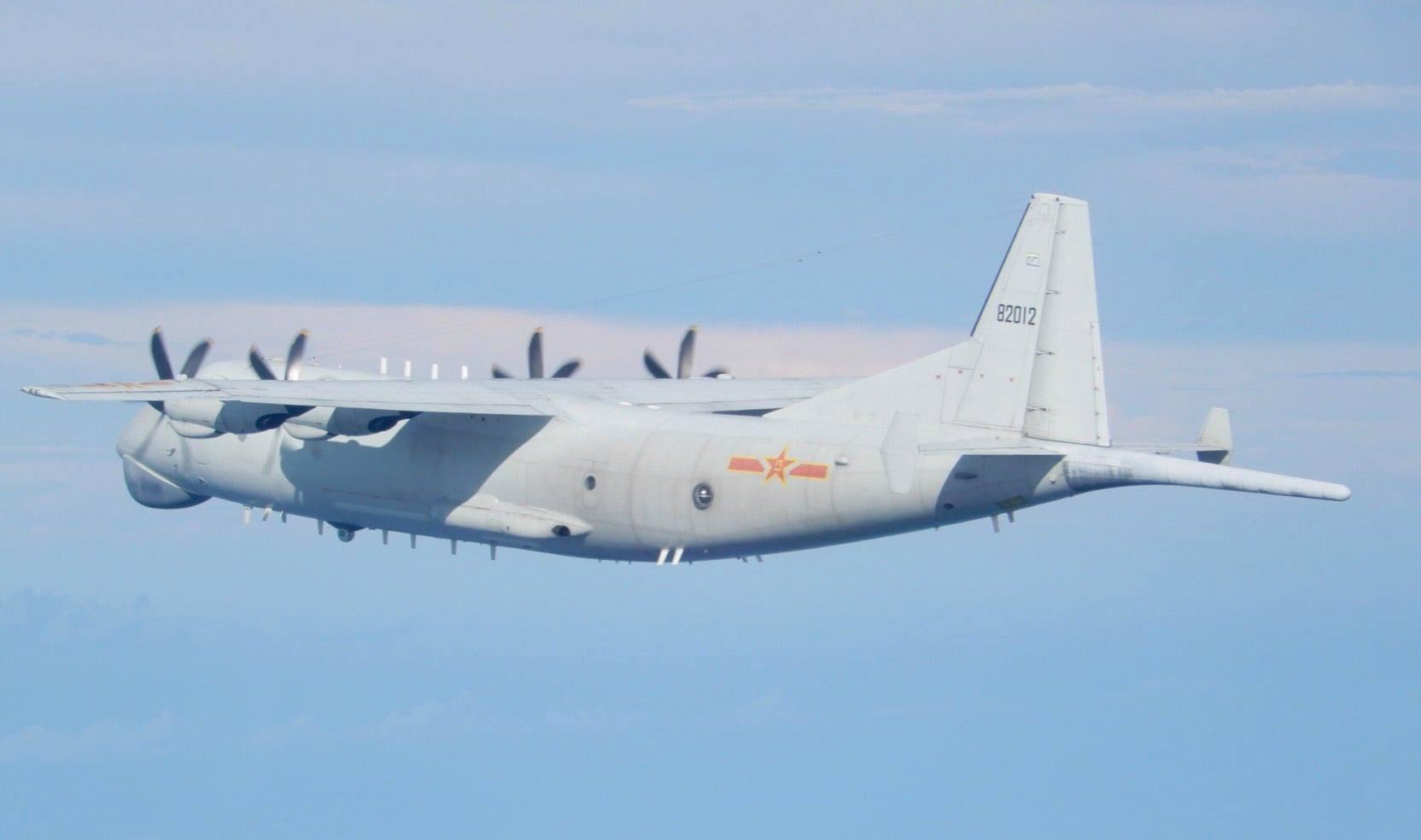 解放军军机再回话:台湾飞机 不要干扰我正常行动图片