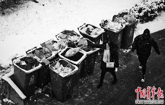 中国最大的垃圾填埋场快装满了图片