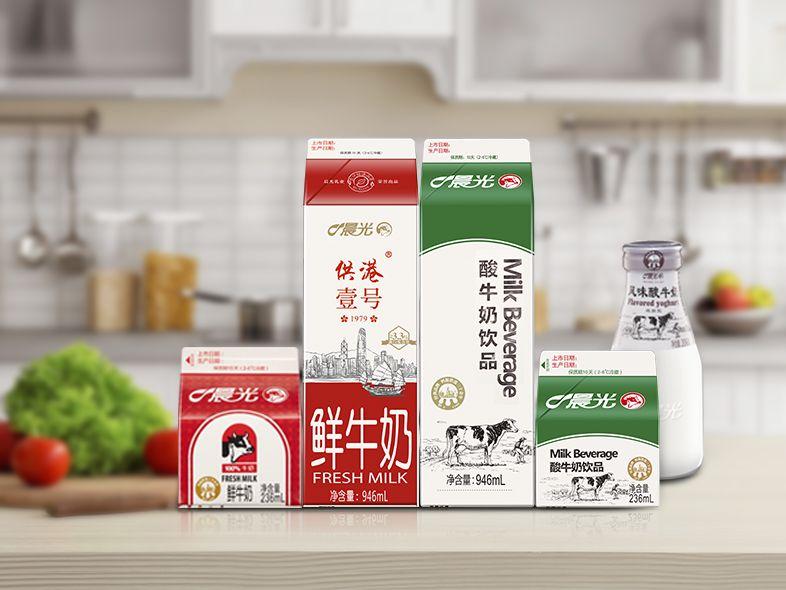 """原国家商评委裁定被驳回,晨光乳业保住""""供港""""商标图片"""