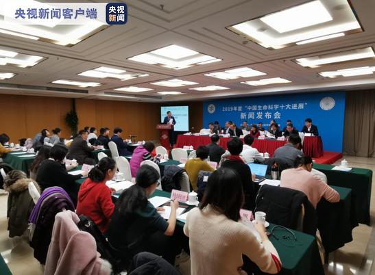 """""""2019年度中国生命科学十大进展"""" 发布图片"""
